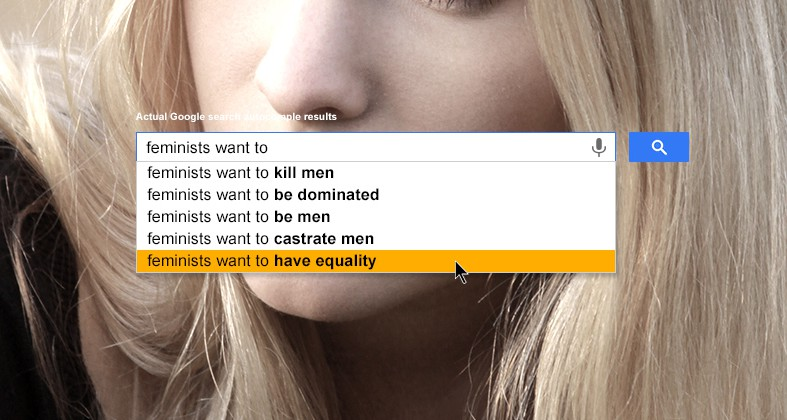 Feminists want to...